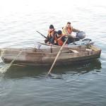 Control pe lacul Racaciuni