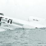 Ramasitele avionului Tarom